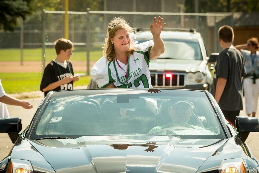 """Litchfield High School Homecoming Parade 2014"""